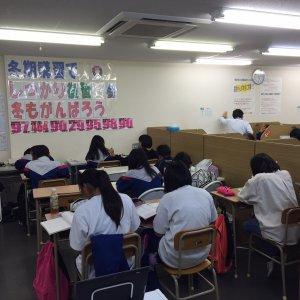 自習室 満席 熱気溢れてます!!!