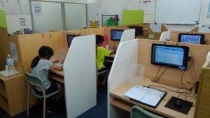「出口校 東大 オンライン授業風景です。」