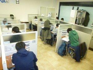 信じられません、教室の稼働率が400%を超えています!