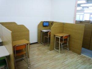 自立型講座&オンライン授業用 コーナー設置