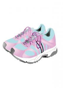 あのピンクの靴