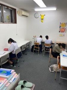 教室開放時間(期末に向けて!)
