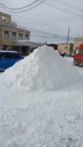 天気大荒れな北海道・・・のはず。
