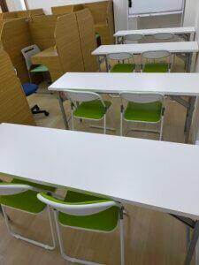 個別指導Wam茅ヶ崎香川校の自習空間は予約不要です