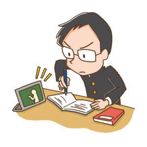 塚越中学_テスト1週間前!!!