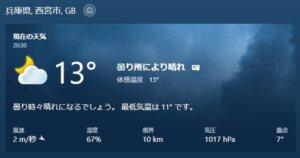 気温13℃ 急激な寒暖差にまけない小学生