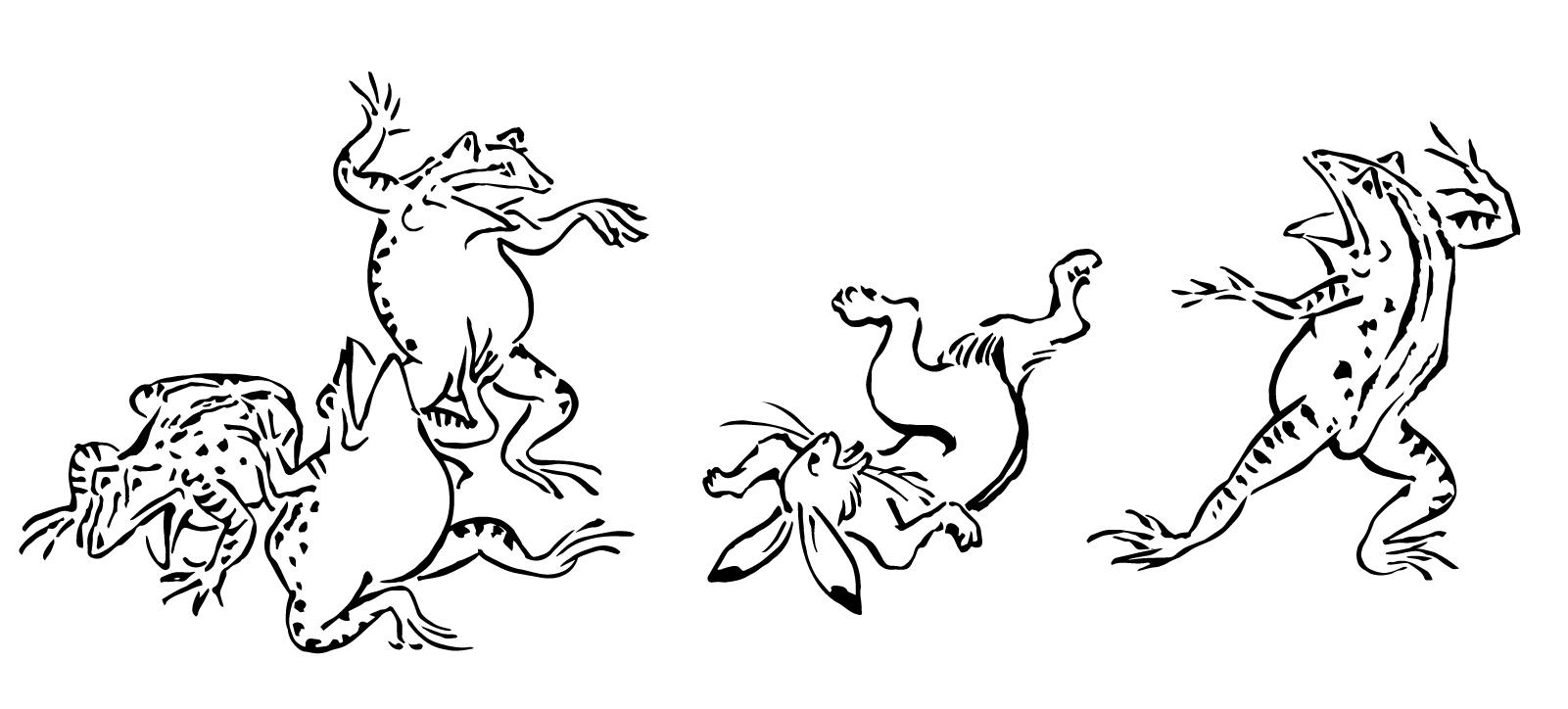 「有田川町鳥獣戯画×手塚治虫スタンプラリー開催中 個別指導Wam吉備校」