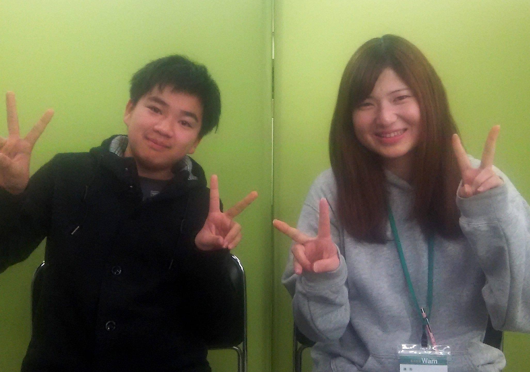 H29春 中学3年 内山皓斗くん 松谷先生