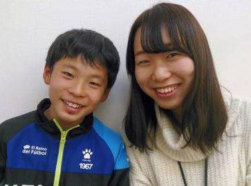 H29春 富岡中学1年 山村嘉弥くん 川口先生