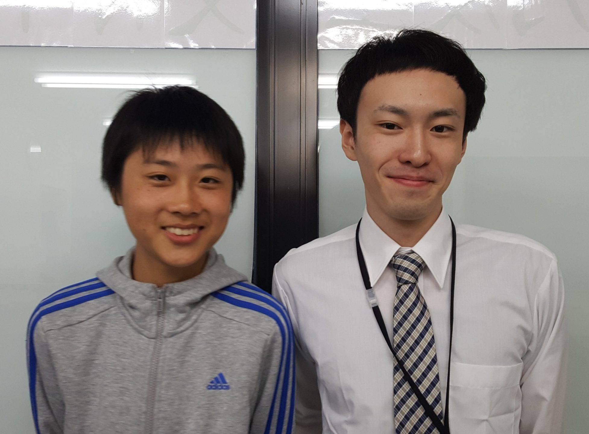 H29夏 中学2年 齋藤翔くん 宮森先生