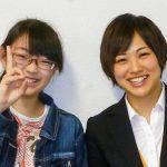 H29夏 中学3年 本間智羽さん 片山先生