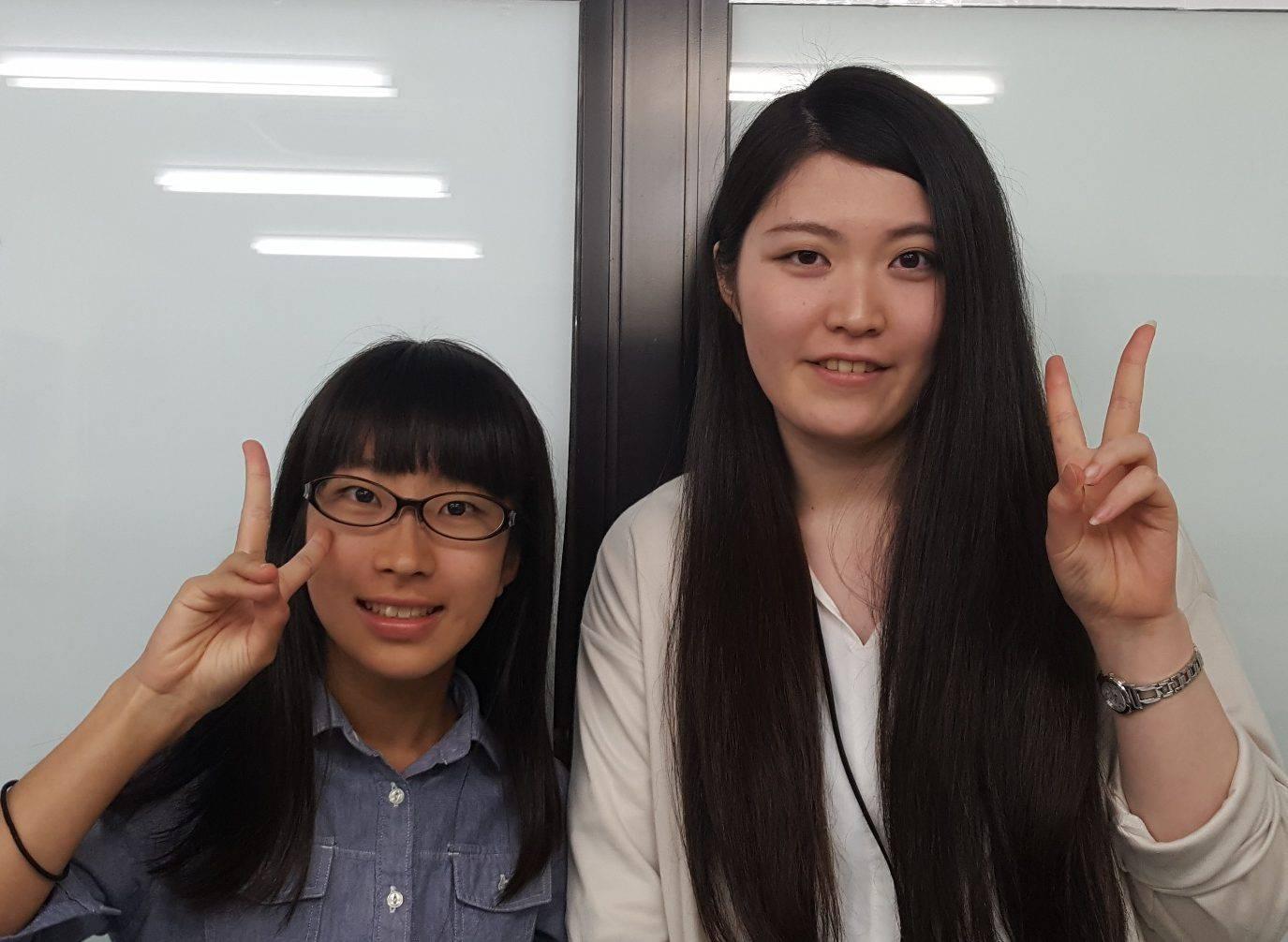 H29夏 中学3年 中越詩乃さん 高岡先生