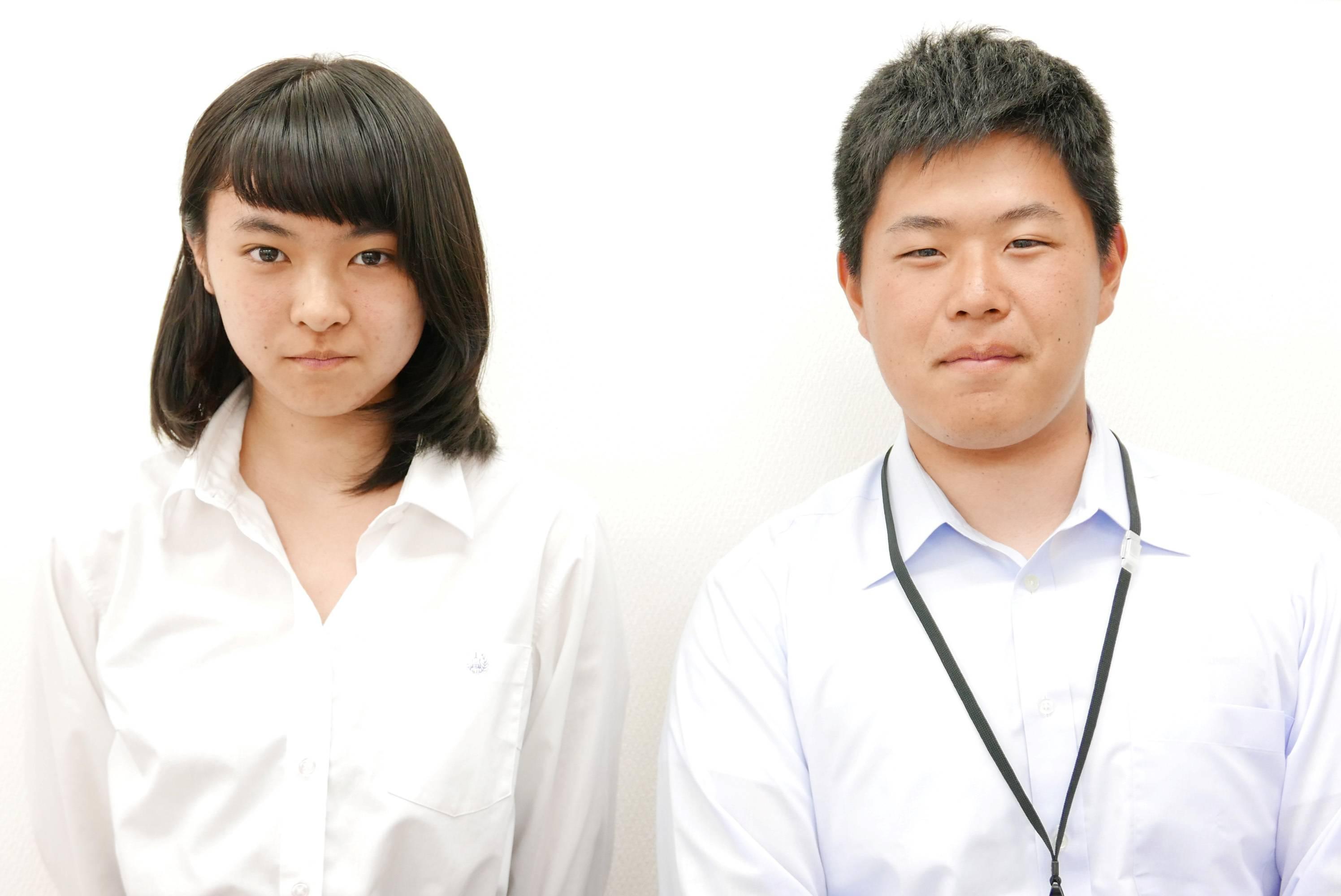 H29夏 高校2年 押木咲里奈さん 小松先生