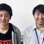 H29夏 中学3年 永留歩くん 鈴木先生