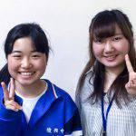 H29夏 中学3年 中村友栄さん 星川先生