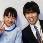 H30春 中学3年 田代咲来さん 金丸先生