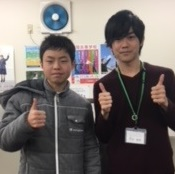 H30春 中学2年(8年) 嶋田優輝くん 坪内先生