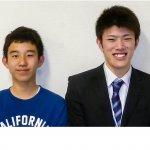 H30春 中学3年 小野田和馬くん 小竹先生