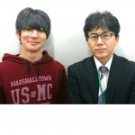 H30春 中学3年 嶋口陽斗くん 吉村先生