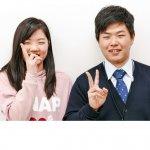 H30春 中学3年 吉川莉央さん 小松先生