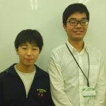 H30春 中学3年 中林天くん 小山先生