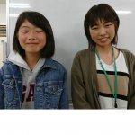 H30夏 中学2年 有田優菜さん 松本先生