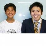H30夏 中学3年 野宮龍空くん 遠藤先生