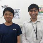 H30夏 中学1年 伊藤壮志くん 蔦尾先生
