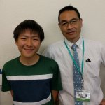 H30夏 中学2年 津川龍之介くん 丸山先生