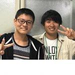 H30夏 中学3年 中仁裕くん 唐見先生