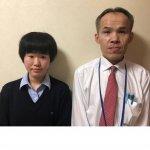 H30夏 高校2年 長谷川夏美さん 山下先生
