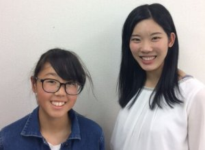 H30夏 中学3年 笹本茉央さん 丸山先生