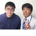 H30夏 中学3年 鈴木雄大くん 小林先生