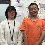 H30夏 高校1年 中島光くん 平野先生