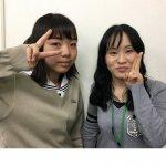 H30夏 高校2年 惣津裕希さん 土中先生