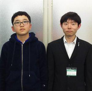 H30夏 中学1年 三井心太郎くん 貴堂先生