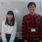 H30夏 はびきの埴生学園8年(中学2年) 細川姫里さん 黒田先生