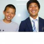 H30夏 中学3年 川田隼大くん 上名主先生