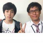 H30夏 中学3年 笠原空くん 大関先生