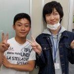 H30夏 高校1年 赤塚友翔くん 米田先生