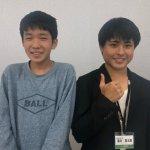 H30冬 中学3年 布施佑樹くん 淺井先生