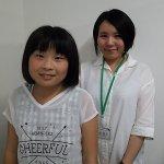 H30冬 中学3年 園田美咲さん 松田先生