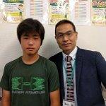 H30冬 中学3年 茂手木浩太くん 丸山先生