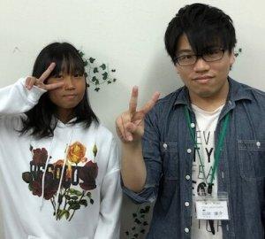 H30冬 中学2年 西脇心愛さん 山田先生