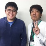 H30冬 中学3年 鈴木雄大くん 小林先生