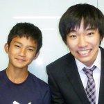 H30冬 中学2年 亀田拓くん 土方先生