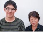 H30冬 中学3年 谷村拓哉くん 松本先生