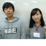 H30冬 中学3年 江川陽太郎くん 兼松先生