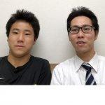 H30冬 中学3年 星野勇真くん 杉本先生