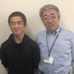 H30冬 中学2年 大髙宝来くん 柏田先生